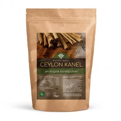 Kanelpulver - Ceylon cinnamon - Økologisk - 250 g