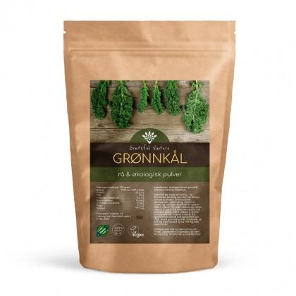 Tørket grønnkålpulver - Økologisk - 250g