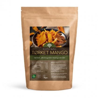 Tørket Mango i skiver - Økologisk - 250 g