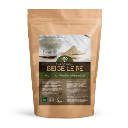 Beige leire - Montmorillonite Food Grade Clay - 250 g