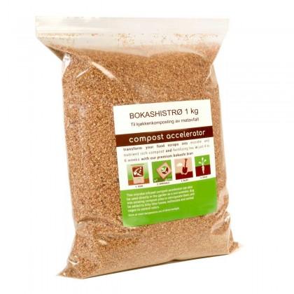 Bokashistrø - til matkompost - 1 kg