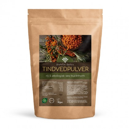 Tindvedpulver - Sea Buckthorn powder - Økologisk - 250 g