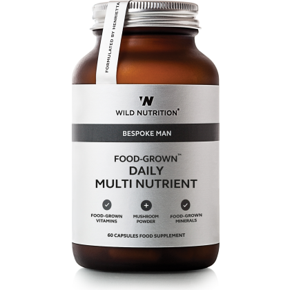 Wild Nutrition - Daily Multi Nutrient for menn - 90 kapsler