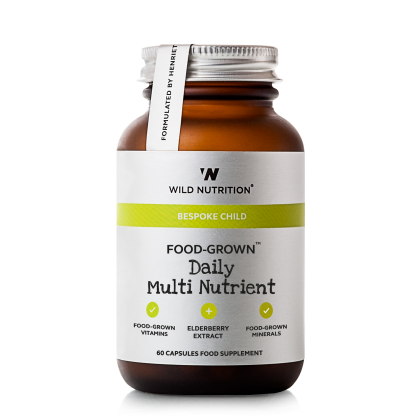 Wild Nutrition - Daily Multi Nutrient for barn - 60 kapsler