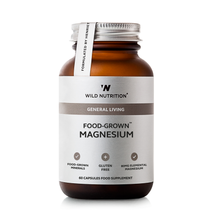 Wild Nutrition - Magnesium - 60 kapsler