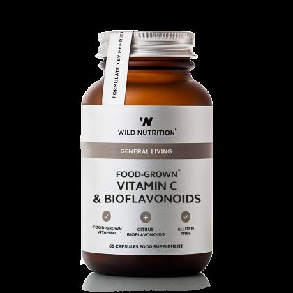 Wild Nutrition - Vitamin C og Bioflavinoider - 60 kapsler