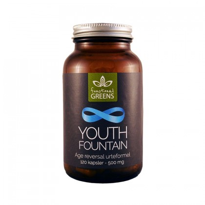 Abonnement - Functional Greens - Youth Fountain - 120 kapsler age reversal urteformel