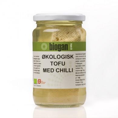 Biogan - Økologisk tofu med chili - 370 g