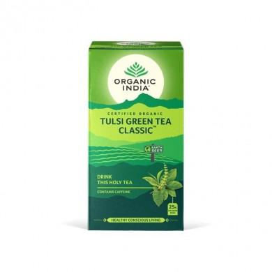 Tulsi Grønn té fra Organic India
