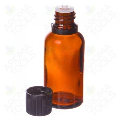 Mørke, 30 ml Glassflasker til Eterisk olje  - 6 stk  i pakken - Aroma Tools