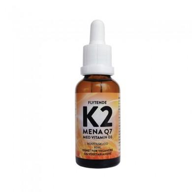 Flytende K2 med vitamin D3 - 30ml
