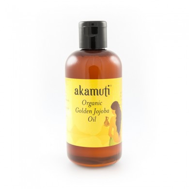 Akamuti Jojoba Golden Organic Oil, Baseolje - 100 ml