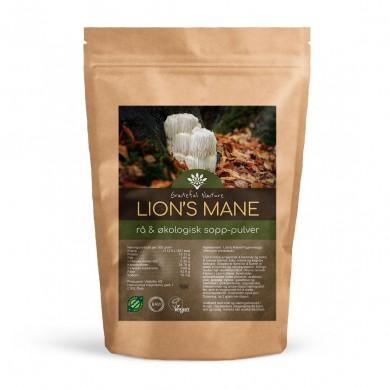 Lion's Mane (piggsvinsopp) - Pulver - Økologisk - 250 g