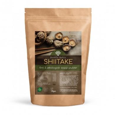 Shiitake sopp - Pulver - Økologisk - 250 g