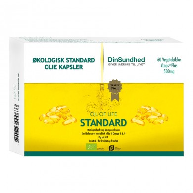 Oil of life - Standard - 60 kapsler a 500mg