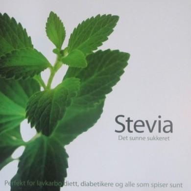 Steviabok - Det sunne sukkeret - Oppskrifter på Norsk!