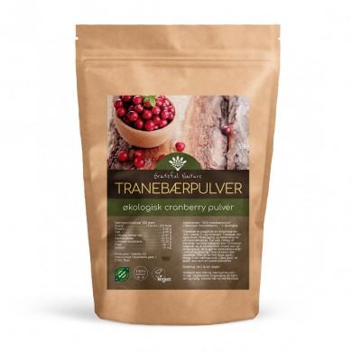 Tranebærpulver - Cranberry powder - Økologisk - 250 g