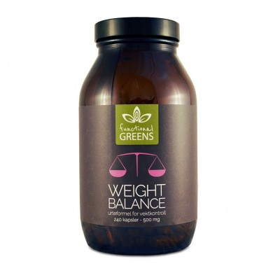 Weight balance for vektkontroll - Functional Greens - 240 kapsler