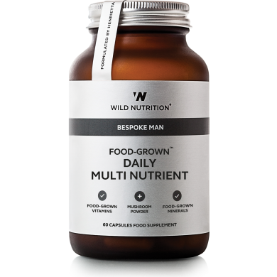 Wild Nutrition - Daily Multi Nutrient for menn - 60 kapsler